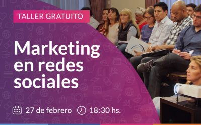 Taller de marketing en redes sociales.