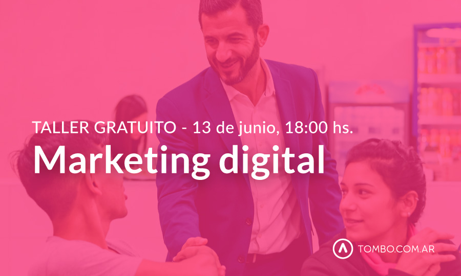 Taller gratuito Marketing digital
